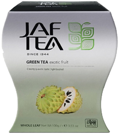 JAF TEA GREEN TEA EXOTIC FRUIT  100 гр
