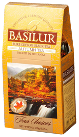BASILUR CEYLON BLACK TEA AUTUMN TEA  100 гр