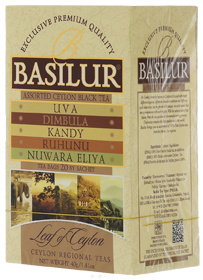 BASILUR ASSORTED CEYLON BLACK TEAS  20 ПАКЕТИКОВ