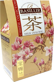 BASILUR CHINESE GREEN TEA MILK OOLONG  100 гр