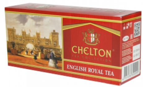CHELTON TEA COLLECTION ENGLISH ROYAL 25 ПАКЕТИКОВ