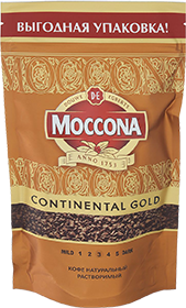MOCCONA CONTINENTAL GOLD 75 гр
