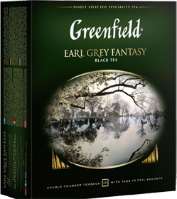GREENFIELD EARL GREY FANTASY 100 пакетиков