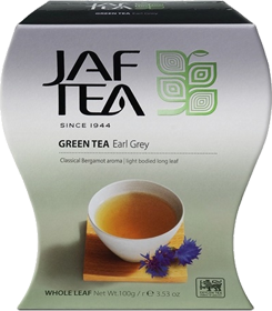 JAF TEA GREEN TEA EARL GREY 100 гр