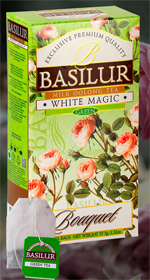 BASILUR MILK OOLON TEA WHITE MAGIC  25 ПАКЕТИКОВ