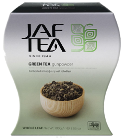 JAF TEA GREEN TEA GUNPOWDER 100 гр