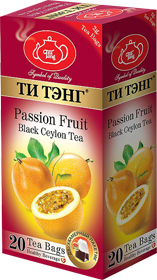 ТИ ТЭНГ PASSION FRUIT BLACK CEYLON TEA 20 ПАКЕТИКОВ