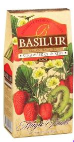 BASILUR CEYLON BLACK TEA STRAWBERRY & KIWI  100 гр