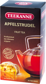 TEEKANNE APFELSTRUDEL FRUIT TEA 25 ПАКЕТИКОВ