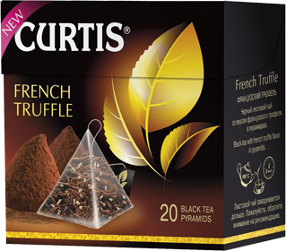 CURTIS  FRENCH TRUFFLE BLACK TEA 20 пирамидок