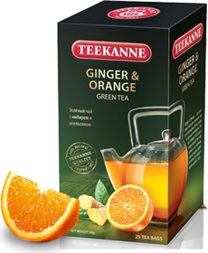 TEEKANNE GRNGER & ORANGE 20 ПАКЕТИКОВ
