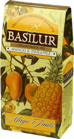 BASILUR CEYLON BLACK TEA MANGO & PINEAPPLE  100 гр