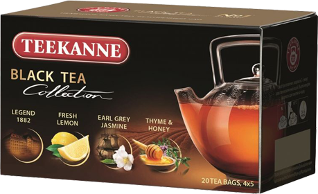 TEEKANNE BLACK TEA COLLECTION 20 ПАКЕТИКОВ