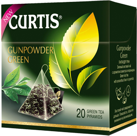 CURTIS  GUNPOWDER GREEN 20 пирамидок
