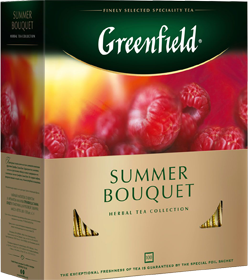GREENFIELD SUMMER BOUQUET 100 пакетиков