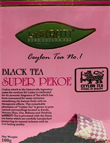 LAKRUTI PURE CEYLON TEA SUPER PEKOE ЧЕРНЫЙ ЧАЙ 100 гр