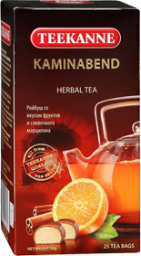TEEKANNE KAMINA BER HERBAL TEA 25 ПАКЕТИКОВ