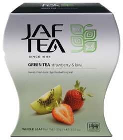 JAF TEA GREEN TEA STRAWBERRY & KIWI  100 гр