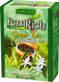 FEMRICH LONDON GREEN TEA JASMINE  100 гр
