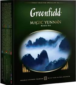 GREENFIELD EARL MAGIC YUNNAN 100 пакетиков