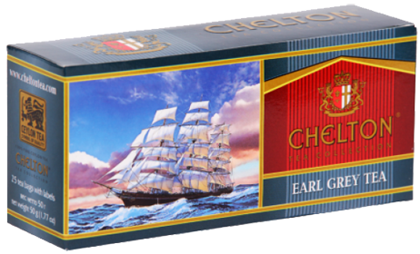 CHELTON TEA COLLECTION EARL GREY 25 ПАКЕТИКОВ