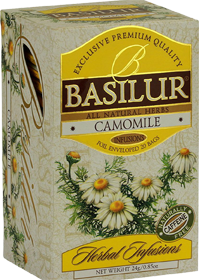 BASILUR ALL NATURAL HERBS CAMOMILE 20 ПАКЕТИКОВ
