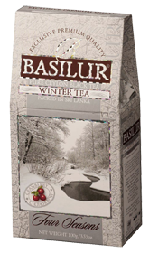 BASILUR CEYLON BLACK TEA WINTER TEA  100 гр