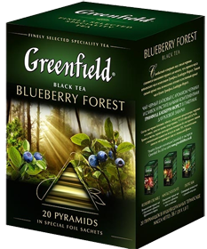 GREENFIELD BLUEBERRY FOREST 20 пирамидок