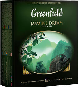 GREENFIELD JASMINE DREAM 100 пакетиков