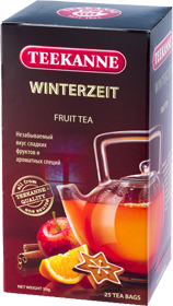 TEEKANNE WINTERZEIT FRUIT TEA 25 ПАКЕТИКОВ