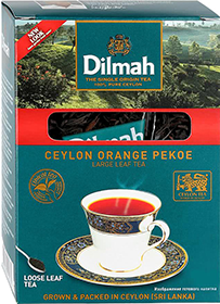 DILMAH CEYLON ORANGE PEKOE LARGE LEAF TEA  100 гр