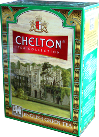 CHELTON TEA COLLECTION ENGLISH GREEN TEA 100 гр