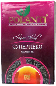 POLANTI PURE CEYLON TEA CLASSIC BLEND SUPER PEKOE 200 гр
