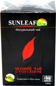SAN LEAF BLACK TEA SOURSOP 100 гр