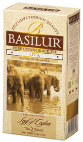 BASILUR 100% PURE CEYLON BLACK TEA UVA 25 ПАКЕТИКОВ