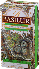 BASILUR MILK OOLON TEA WHITE MOON  25 ПАКЕТИКОВ