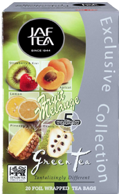 JAF TEA GREEN TEA FRUIT MELODY 20 ПАКЕТИКОВ