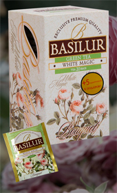 BASILUR MILK OOLONG TEA WHITE MAGIC 20 ПАКЕТИКОВ
