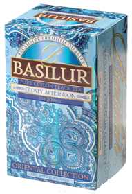 BASILUR CEYLON BLACK TEA FROSTY AFTERNOON 25 ПАКЕТИКОВ
