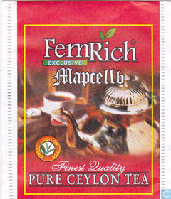 FEMRICH EXCLUSIVE МАРСЕЛЬ EXCELLENT CEYLON COLLECTION 100 ПАКЕТИКОВ