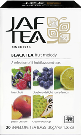 JAF TEA BLACK TEA FRUIT MELODY 20 ПАКЕТИКОВ
